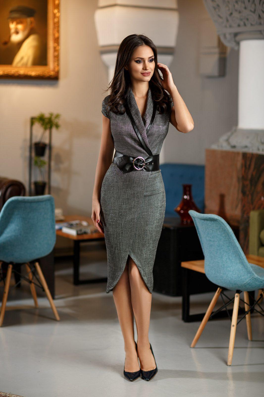 Sharon Gray Dress