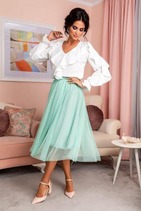 Hety Mint Skirt