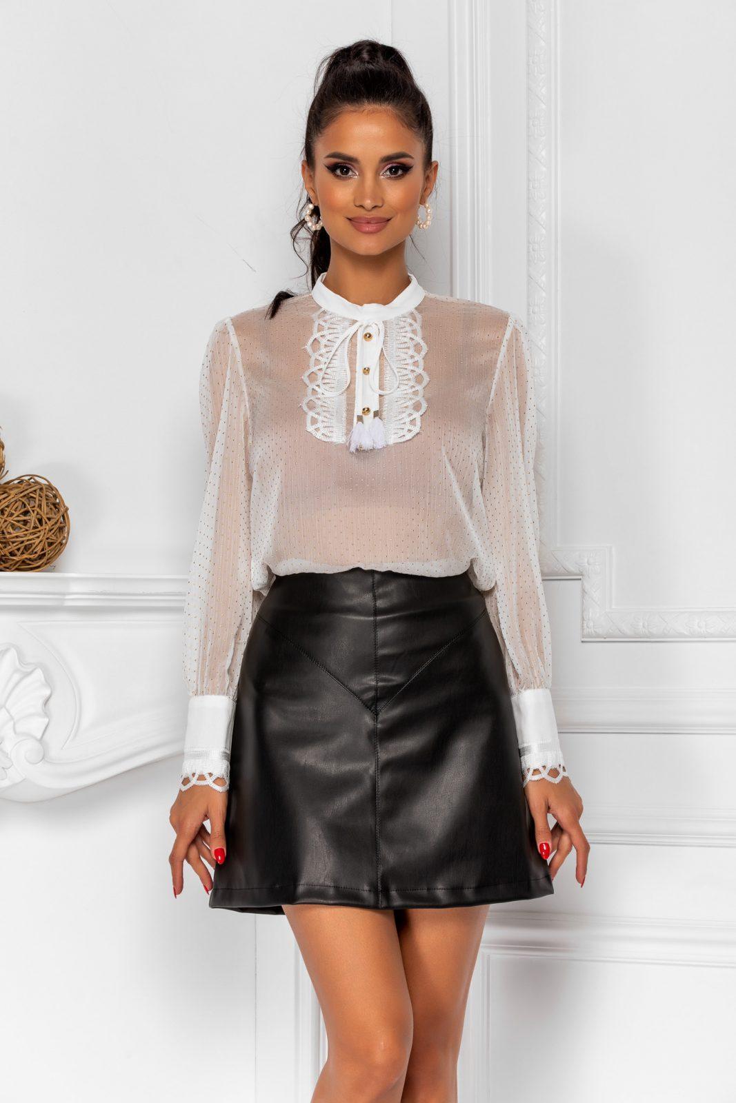 Zina Black Skirt