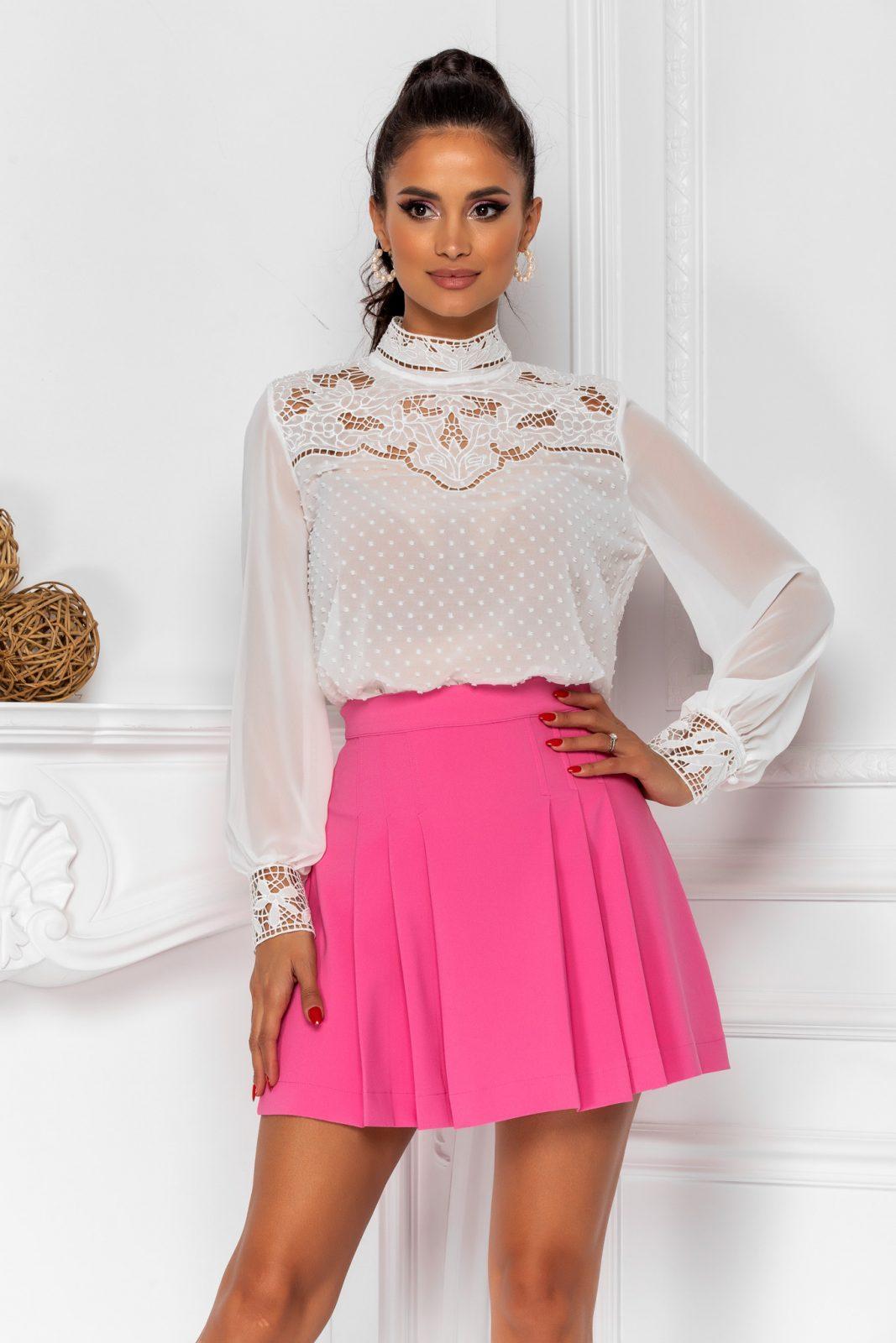 Ροζ Φούστα Pinky 8390 2