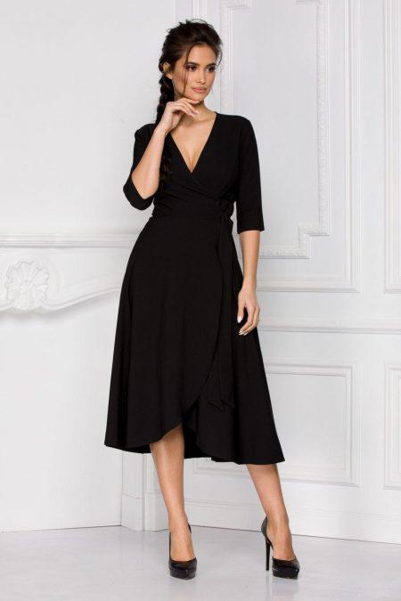 Κρουαζέ Μαύρο Φόρεμα Loreen 8392