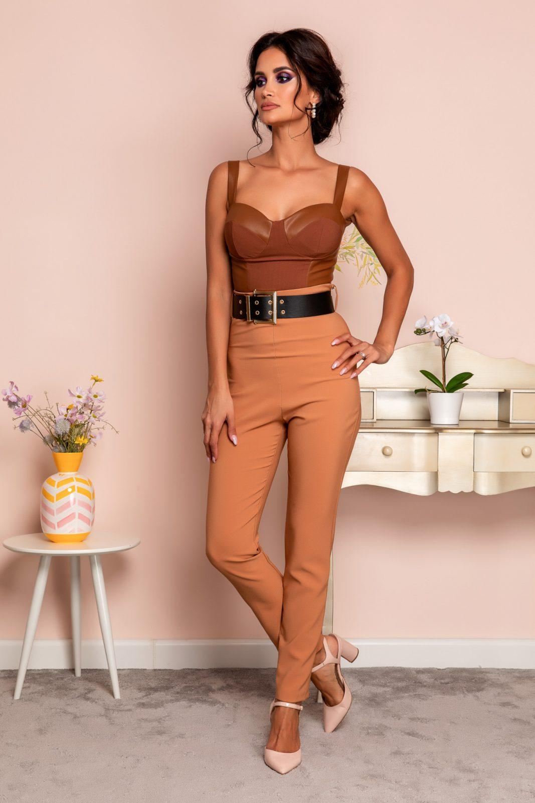 Marvis Caramel Trousers