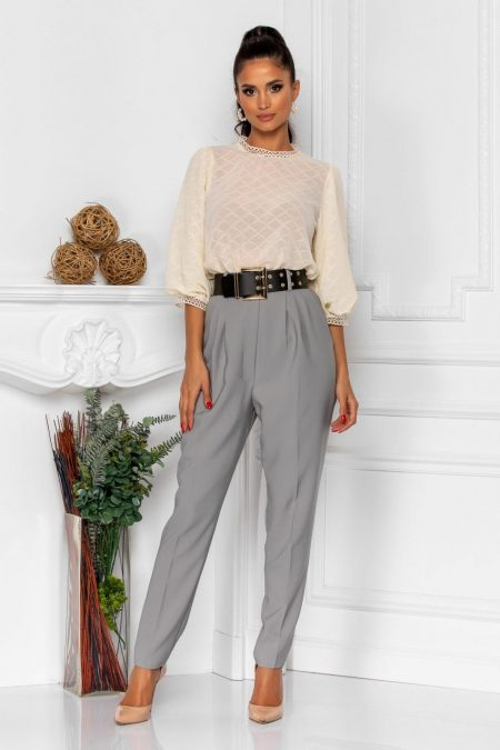 Kamari Gray Trousers
