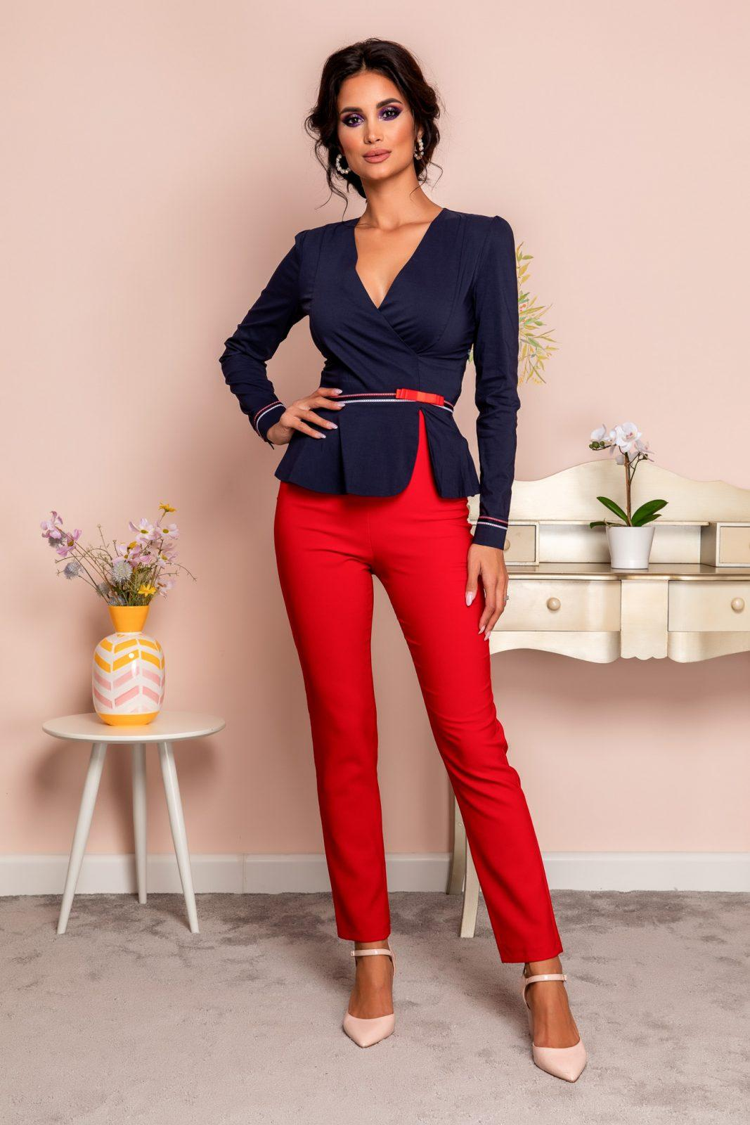 Marvis Red Trousers
