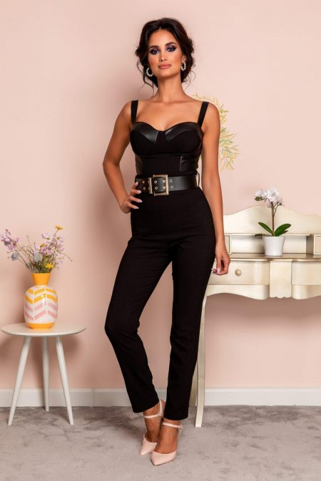 Marvis Black Trousers