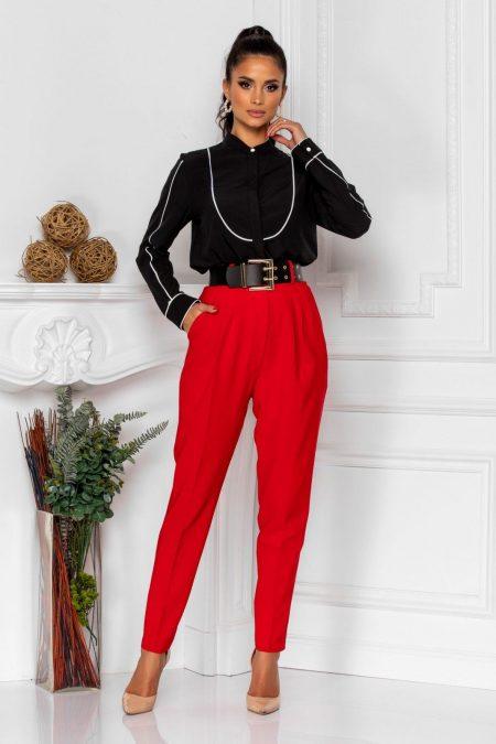 Kamari Red Trousers