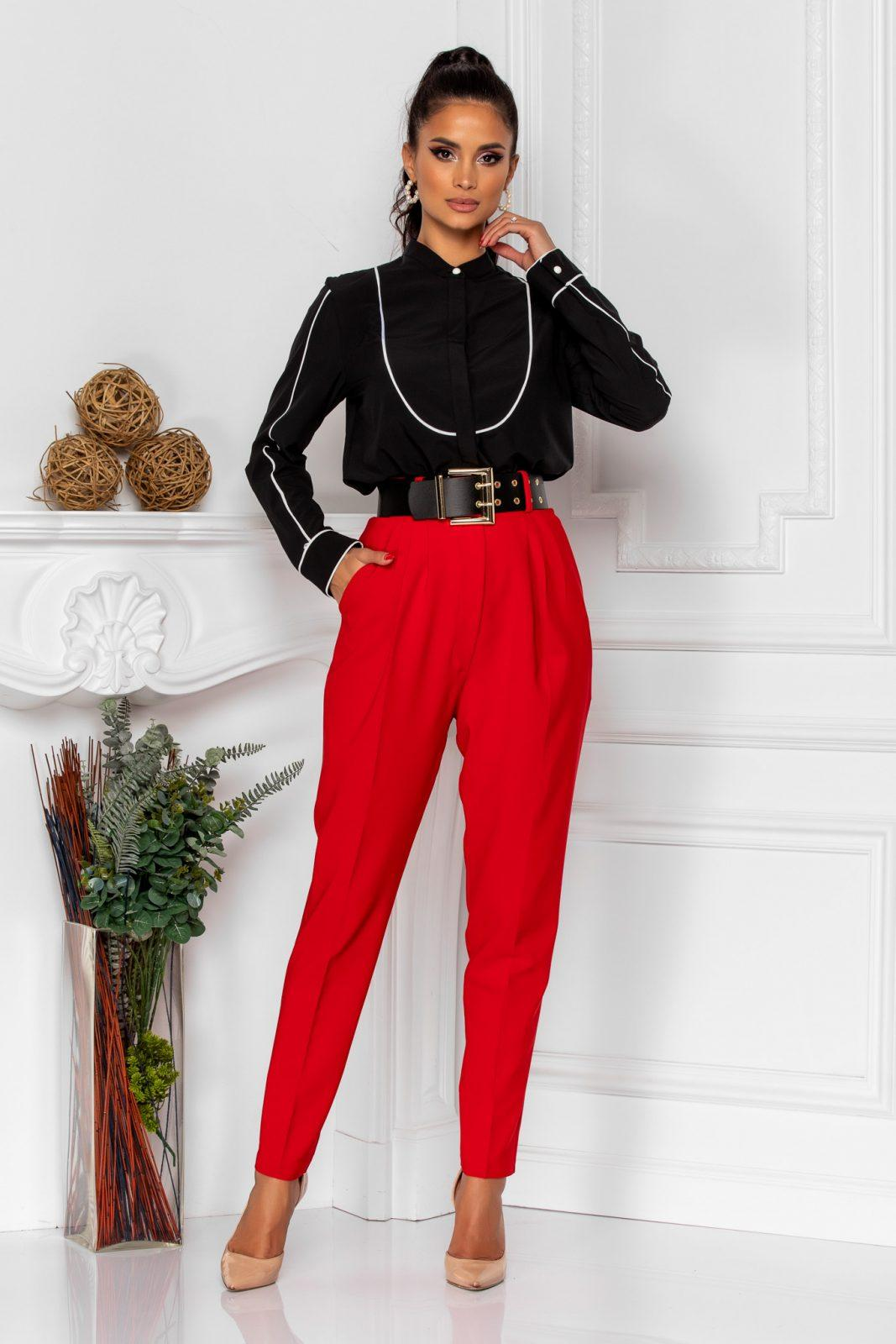 Kamari Red Trousers
