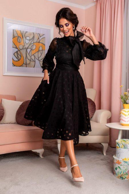 Radiant Black Dress