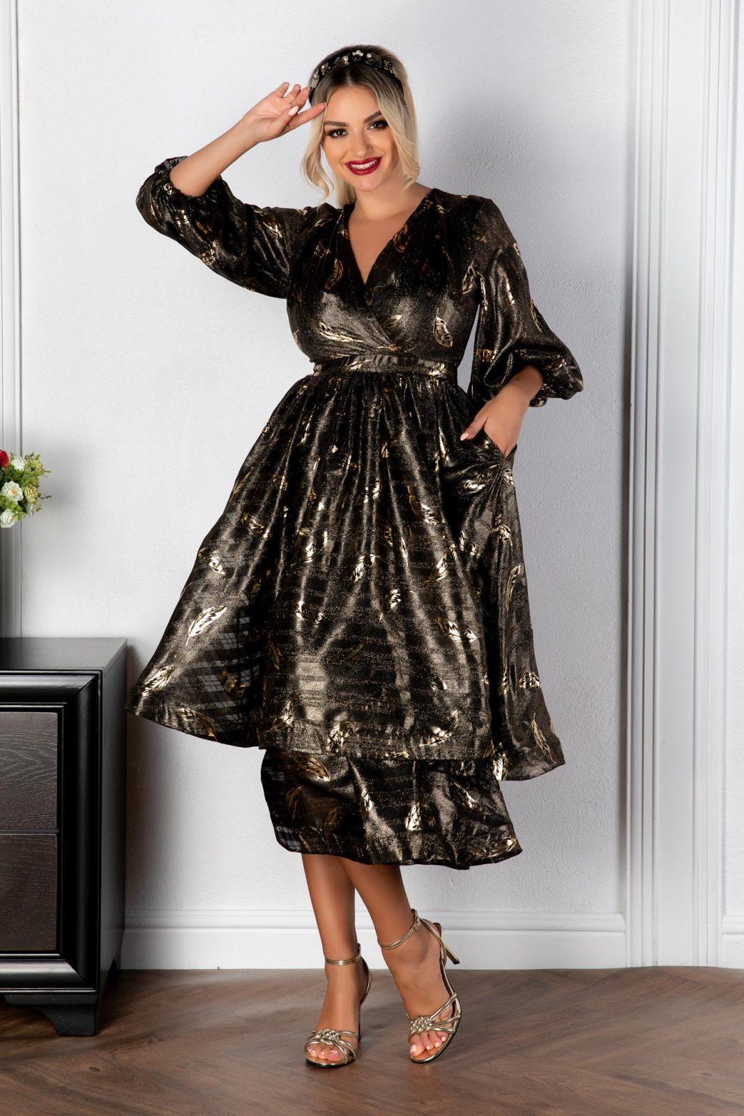 Μίντι Βραδινό Φόρεμα Romelia 8166 3