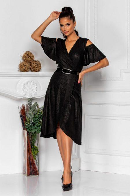 Venera Black Dress