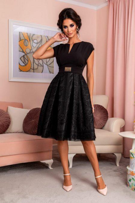 Tamisa Black Dress