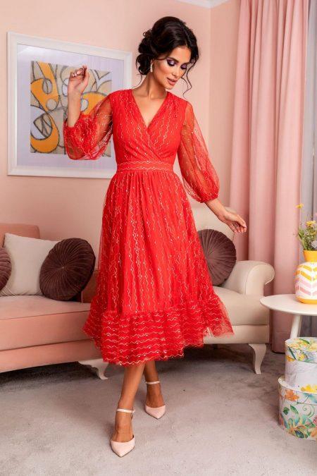 Ofelia Red Dress