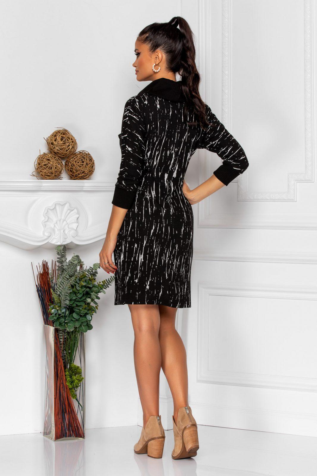 Μαύρο Φόρεμα Jana 8384