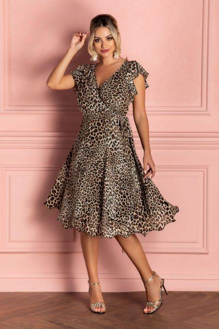Heidy Animal Print Dress