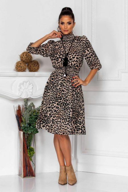 Kim Animal Print Dress