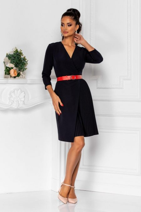 Jenny Navy Dress