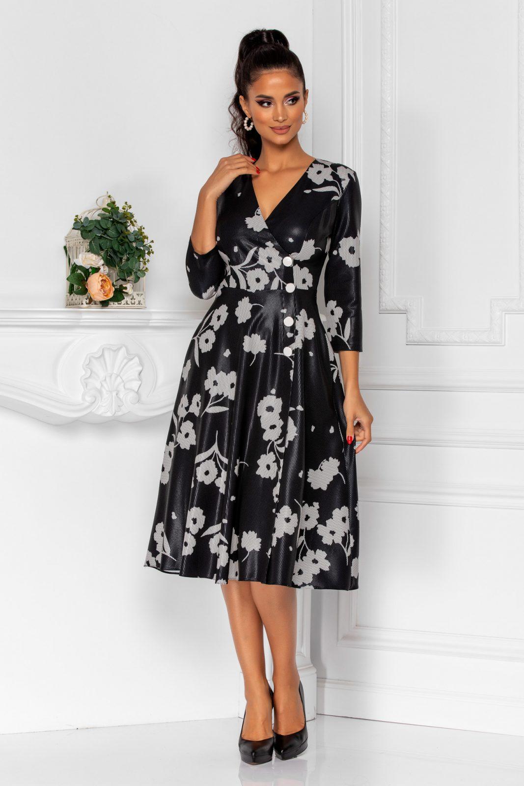 Steff Black Dress