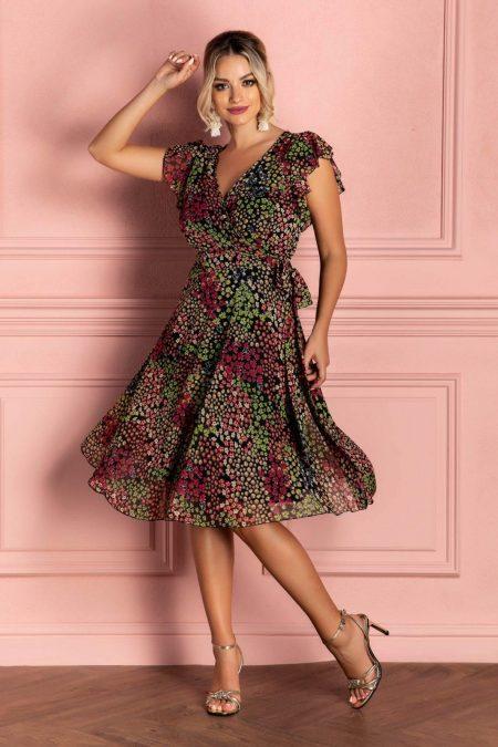 Heidy Multi Floral Dress