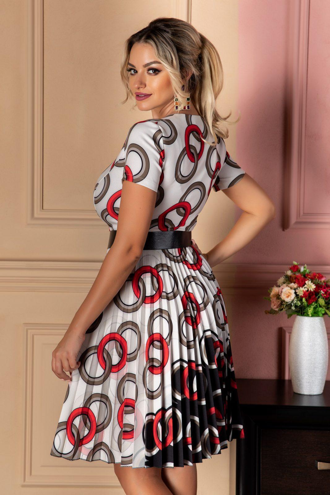 Κόκκινο Φόρεμα Lola 7432