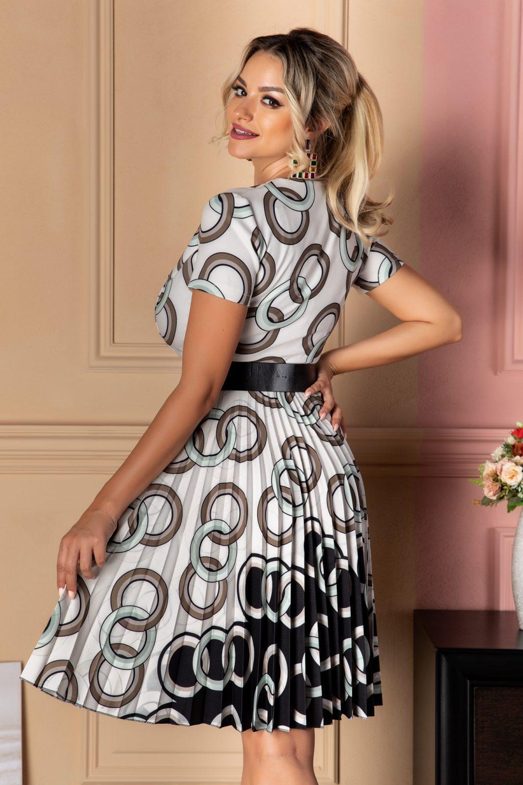 Μέντα Καθημερινό Φόρεμα Lola 7433