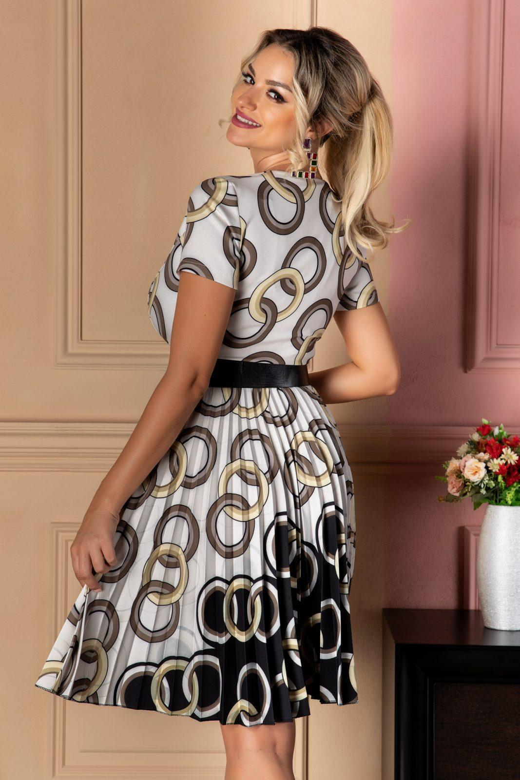 Εμπριμέ Φόρεμα Lola 7430 2