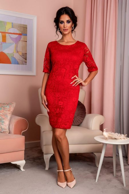 Glancy Red Dress