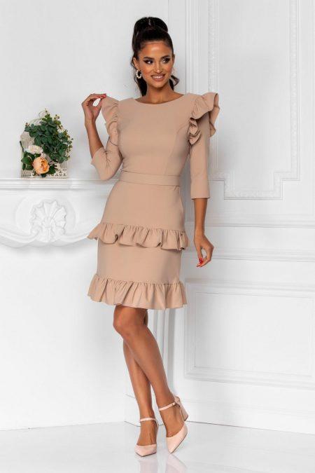 Joleen Nude Dress