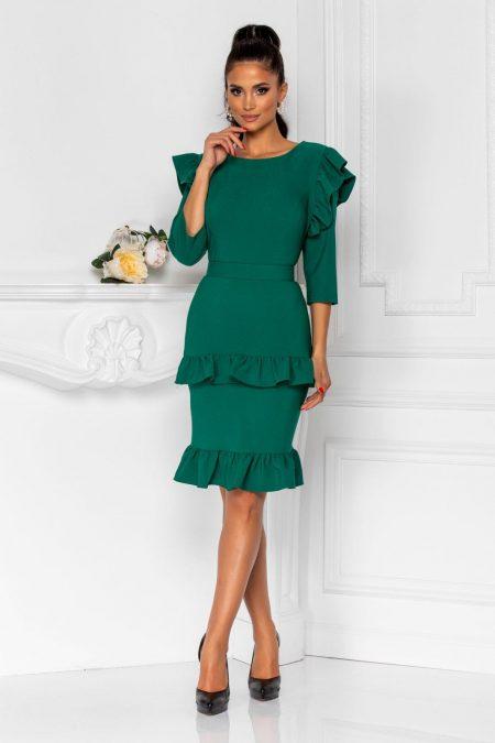 Joleen Green Dress