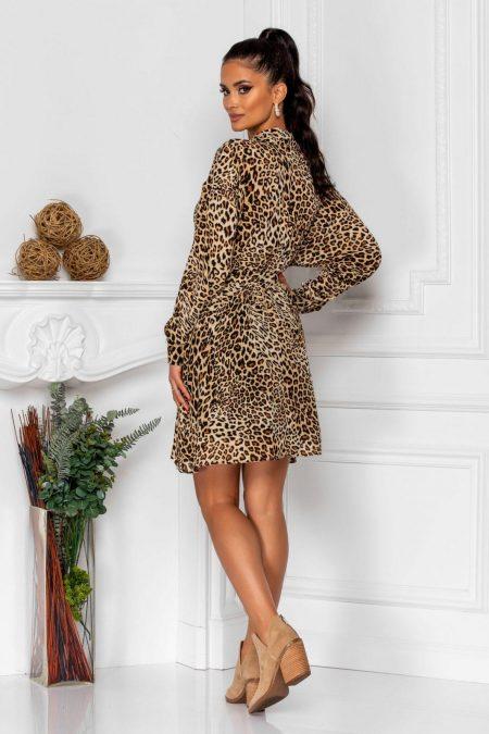 Λεοπάρ Φόρεμα Pauline 8356