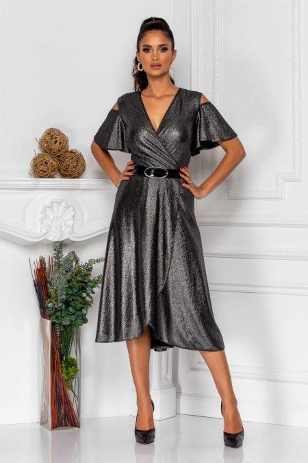 Venera Dark Gray Dress