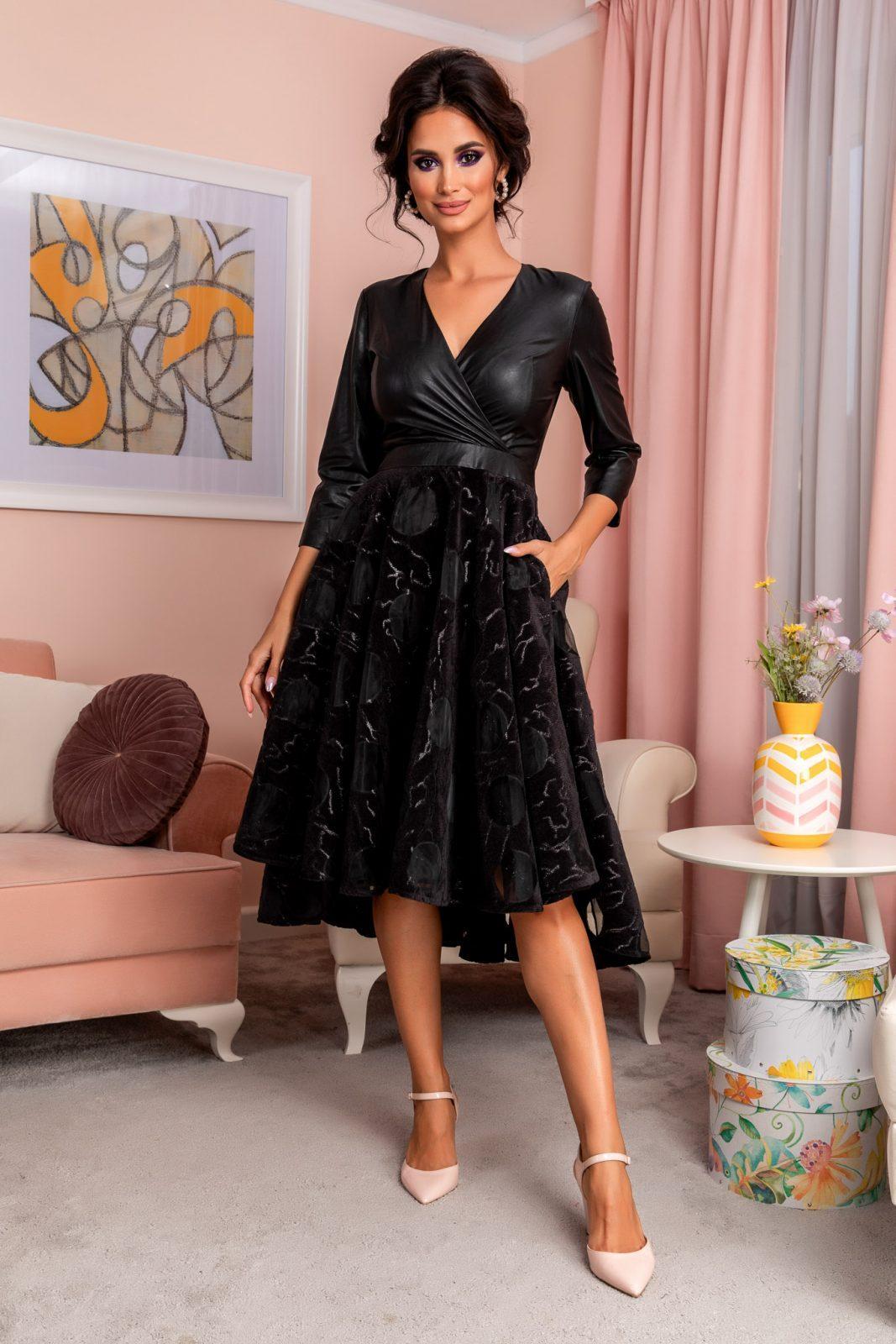 Terra Black Dress