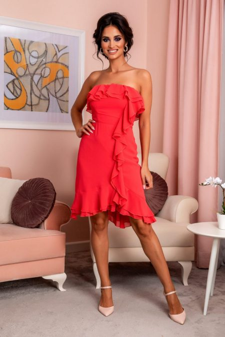 Annes Coral Dress