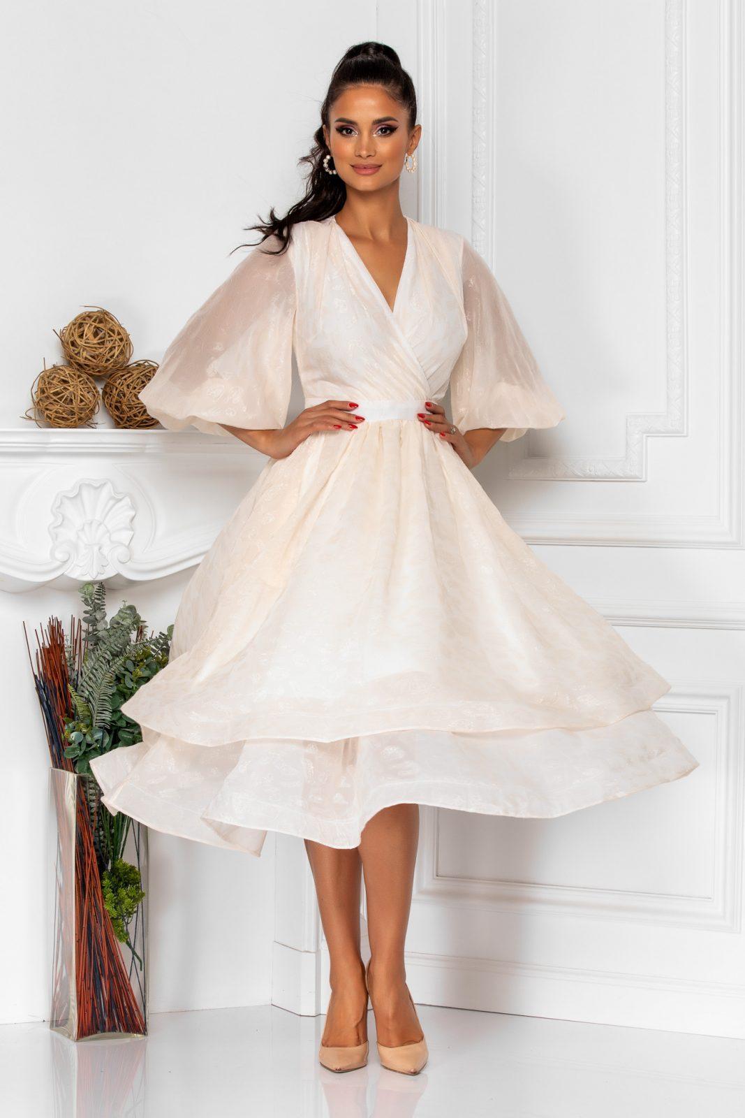Wonderful Ivory Dress