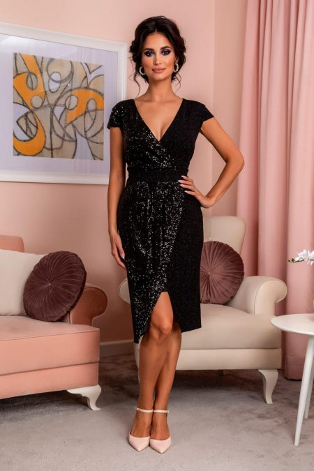 Grazzia Black Dress