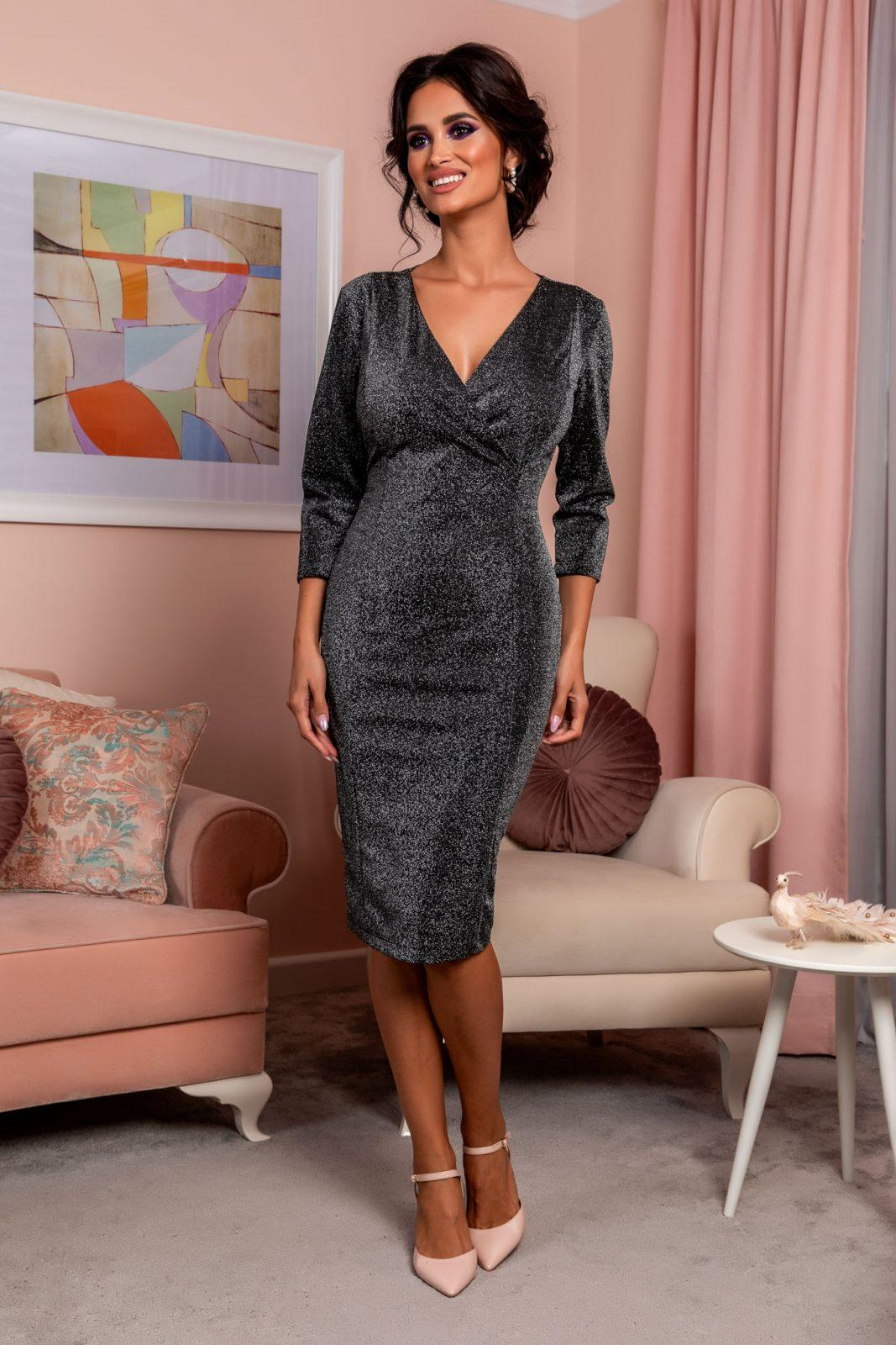Relya Black Dress