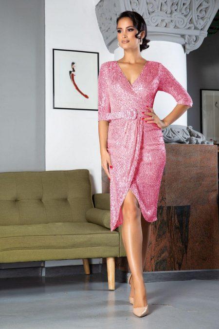 Expression Pink Dress
