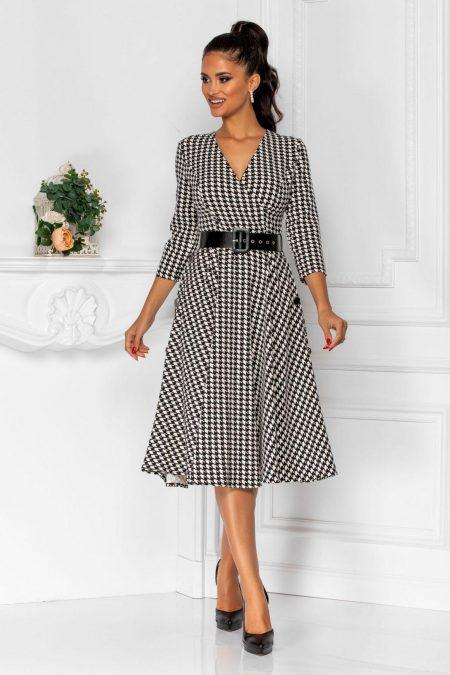 Taylor Bicolore Dress