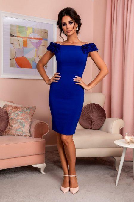 Alive Royal Blue Dress