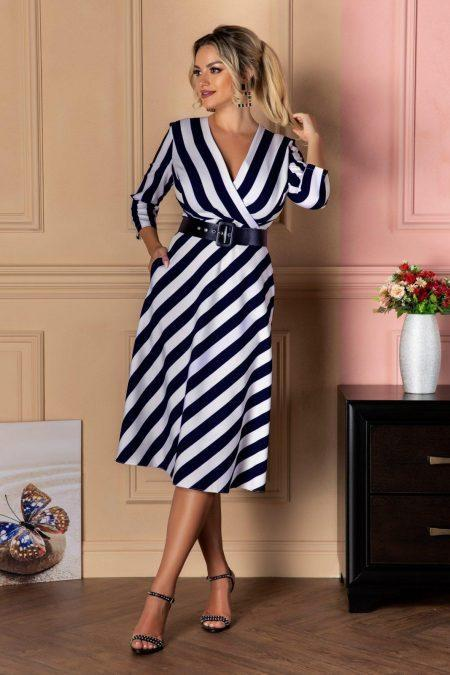 Zaira Navy Dress