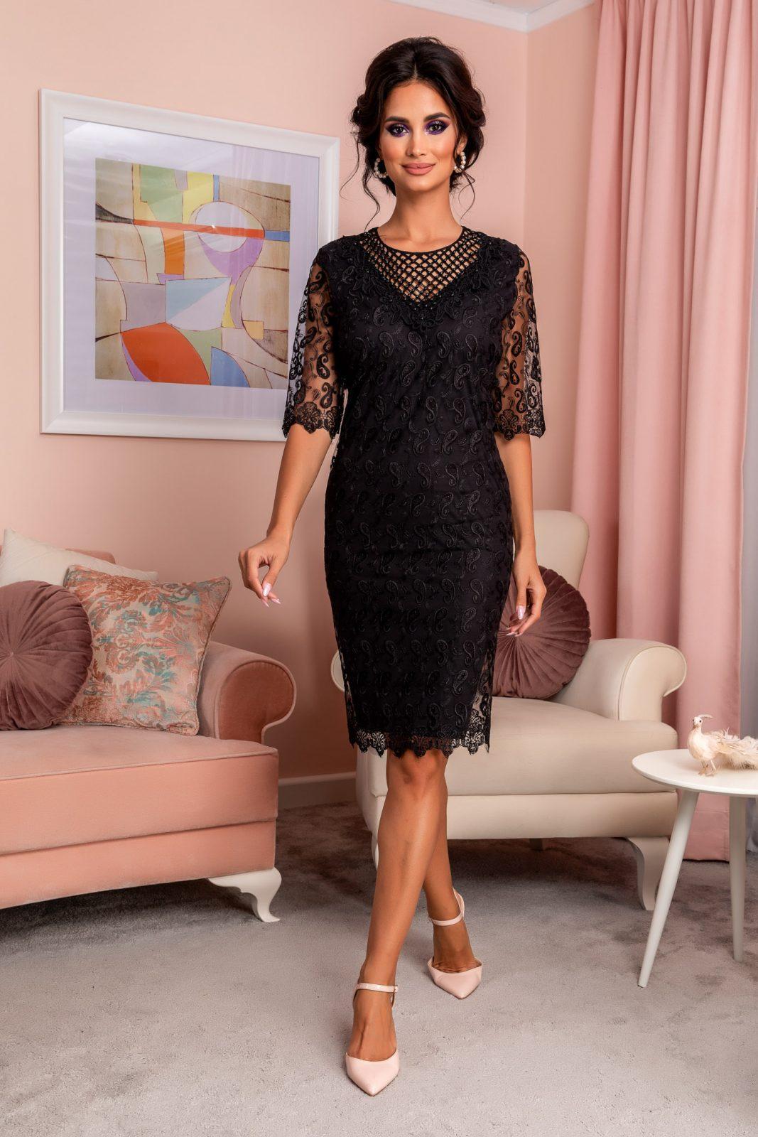 Emilly Black Dress