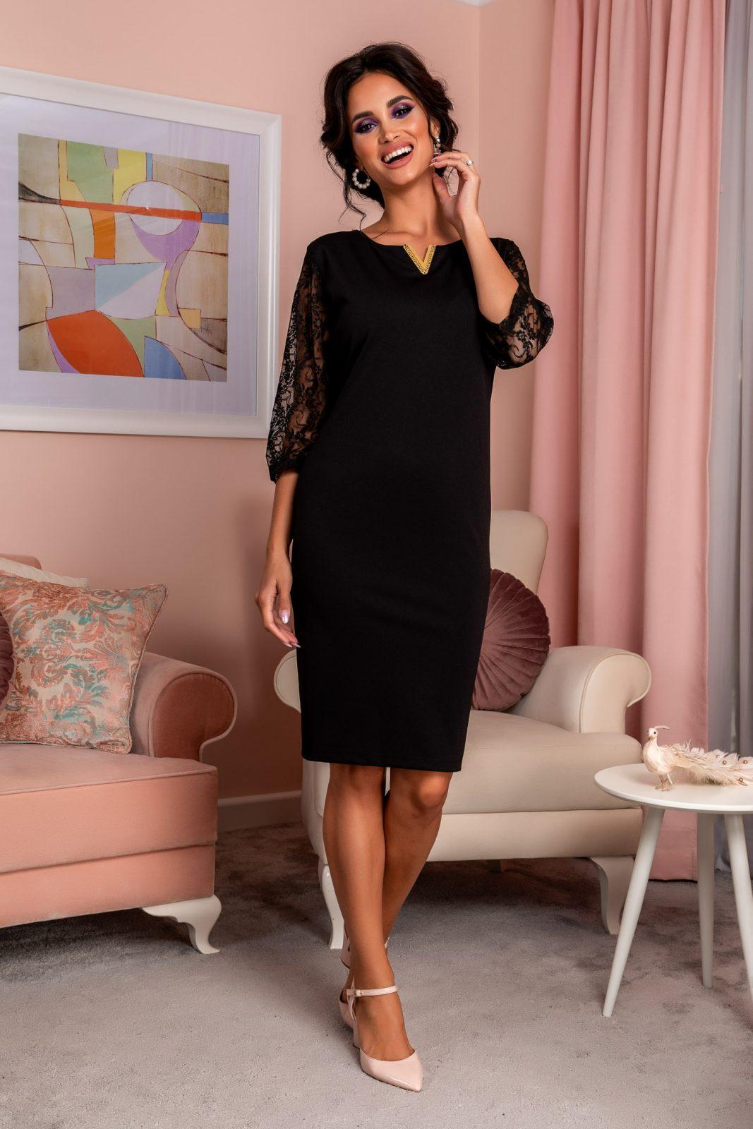 Trysha Black Dress