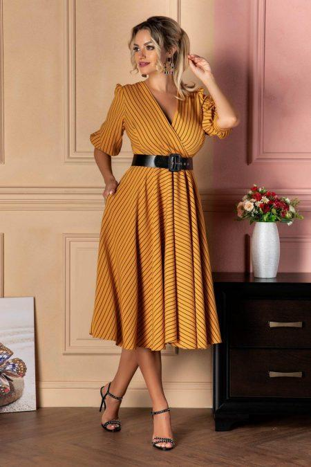 Renata Yellow Dress