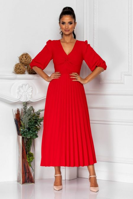 Rosaline Red Dress