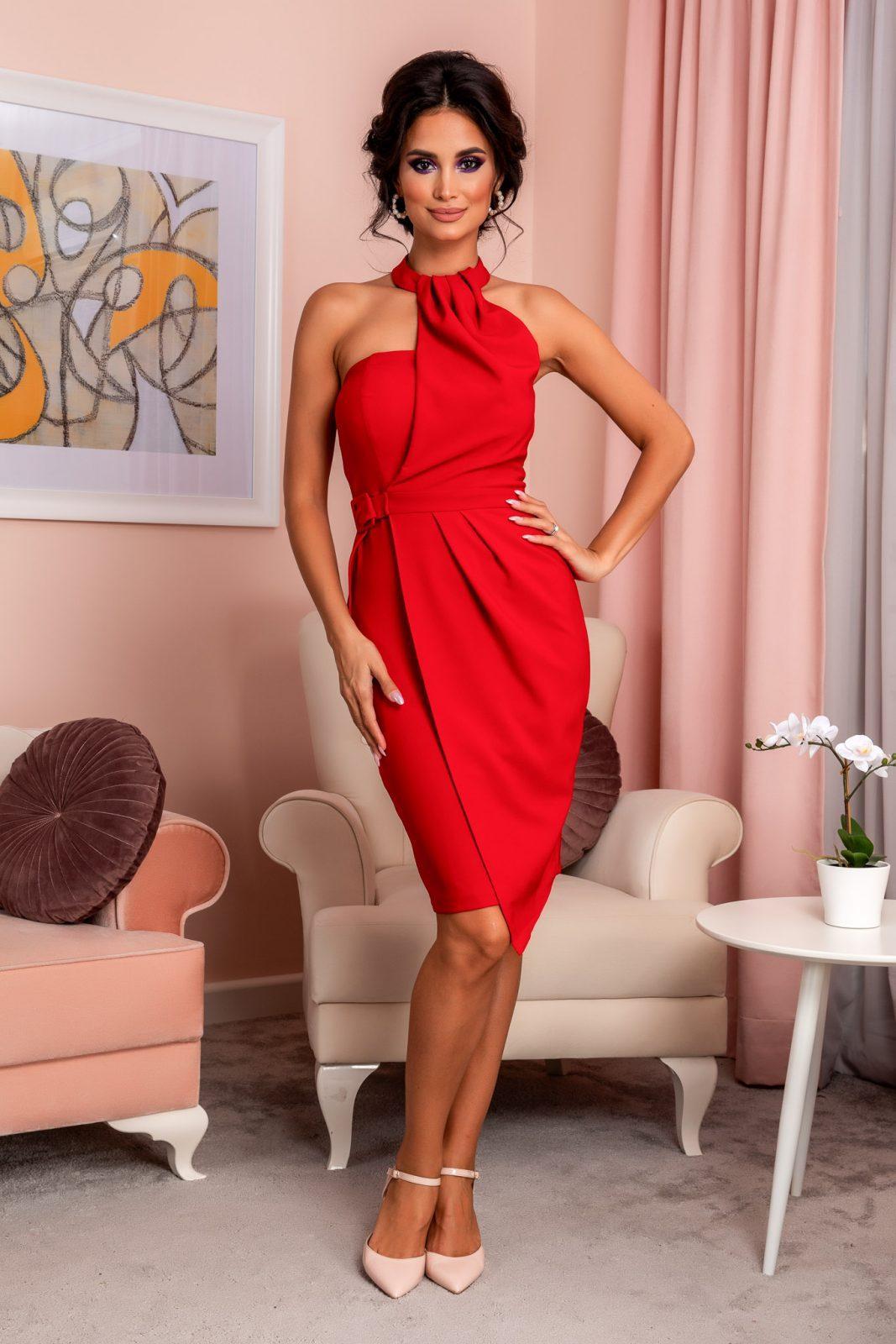 Martina Red Dress