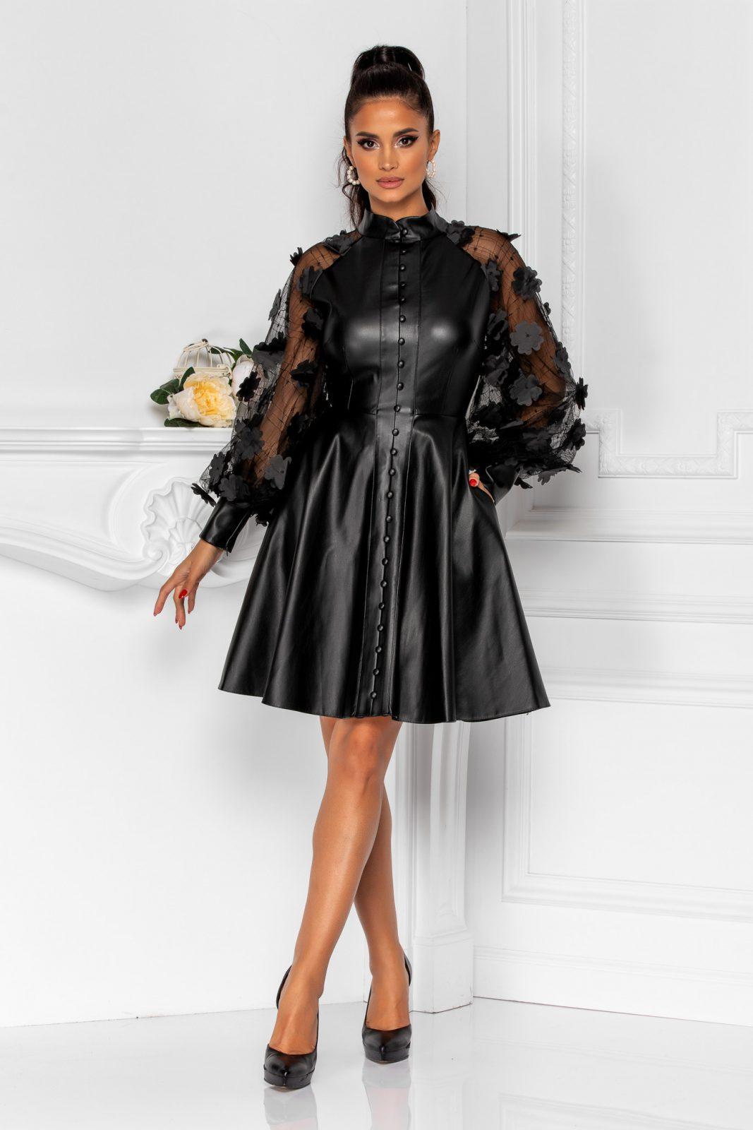 Claudine Black Dress