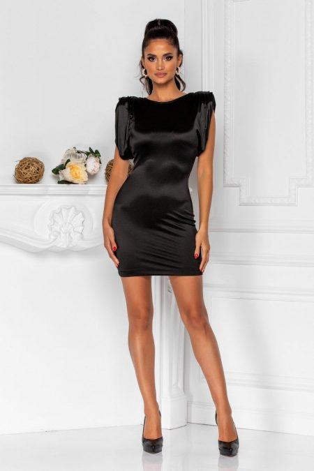 Sensy Black Dress