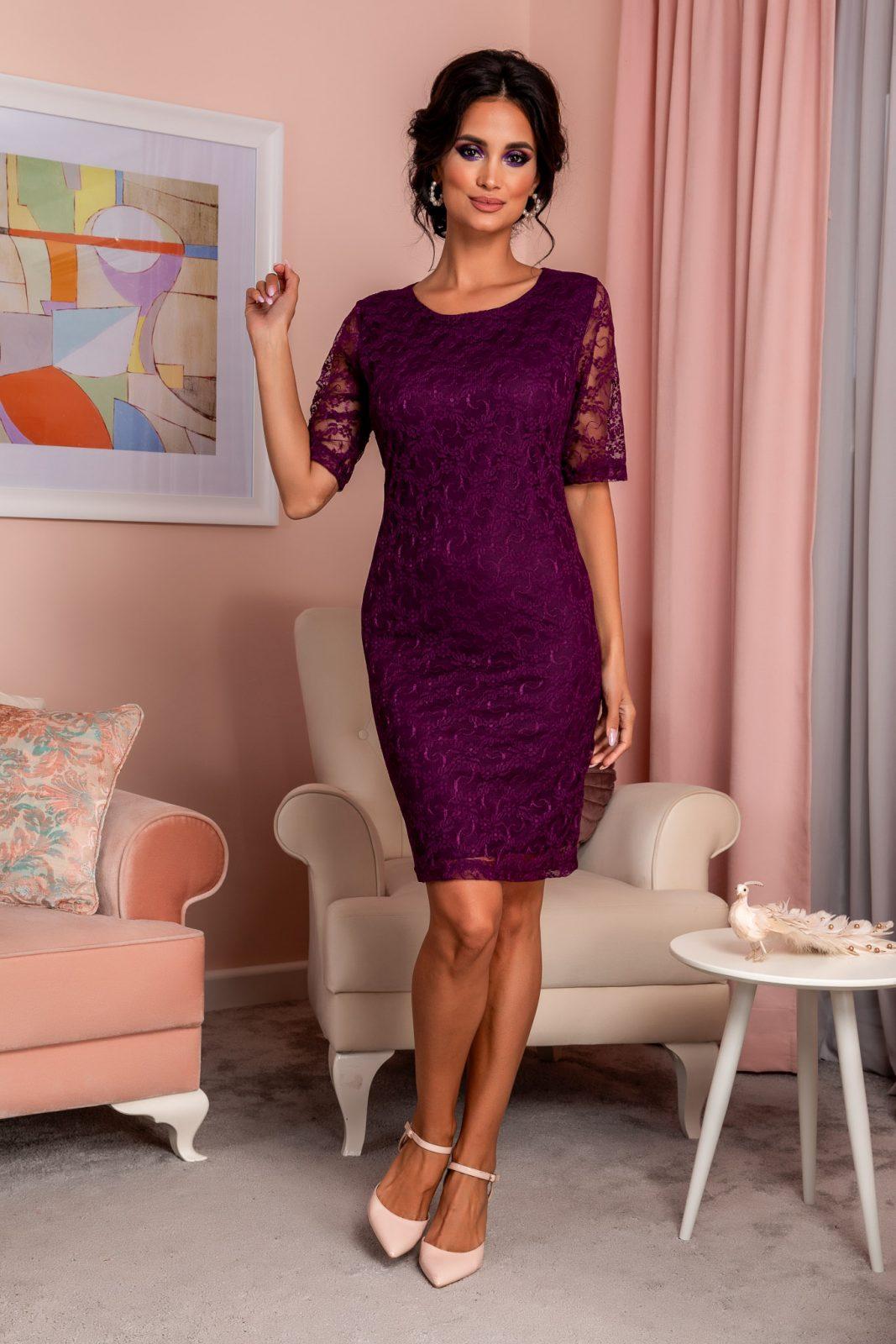 Verra Violet Dress