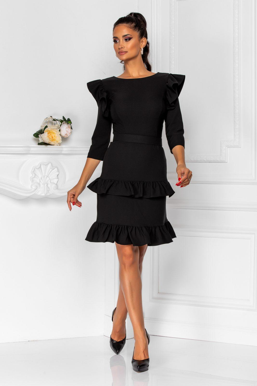 Joleen Black Dress