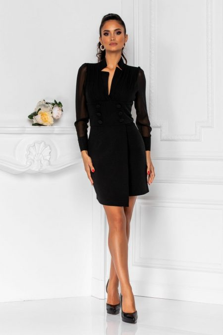 Silvie Black Dress