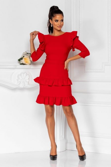 Joleen Red Dress